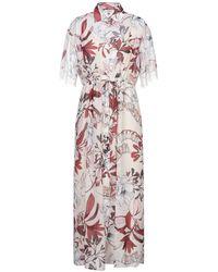 LE COEUR TWINSET Midi Dress - White