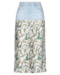 Liu Jo Denim Skirt - Blue