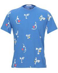 JC de Castelbajac Camiseta - Azul
