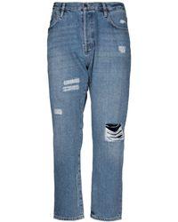 Superdry Denim Trousers - Blue