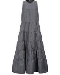 Rochas Robe longue - Gris