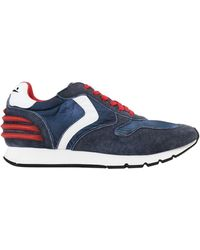 Voile Blanche Low Sneakers & Tennisschuhe - Blau