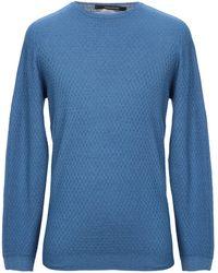 Tagliatore Pullover - Blau