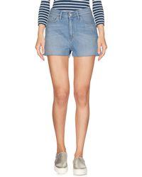 Carhartt - Denim Shorts - Lyst