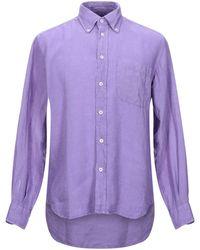 HARDY CROBB'S Shirt - Purple