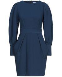 Closet Short Dress - Blue