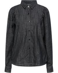 Soallure Denim Shirt - Black