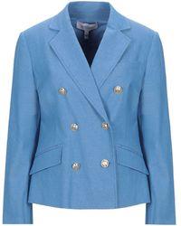10 Crosby Derek Lam Suit Jacket - Blue