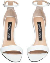 Sergio Rossi Sandals - White