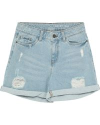 Noisy May Shorts jeans - Blu
