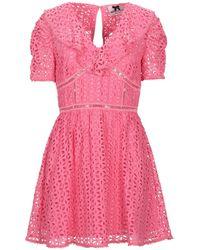 No Secrets Short Dress - Pink