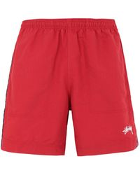 Stussy Shorts - Rojo
