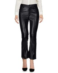 Cheap Monday Casual Trousers - Black
