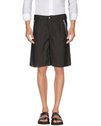 Daniele Alessandrini Homme Bermuda Shorts - Black