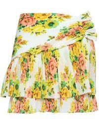 Zimmermann Mini Skirt - White