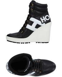 Hogan High Sneakers & Tennisschuhe - Schwarz
