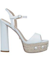 Le Silla Sandales - Blanc