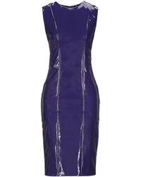 Manila Grace Midi Dress - Purple