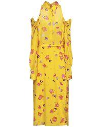 Altuzarra 3/4 Length Dress - Yellow