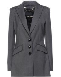 W Les Femmes By Babylon Suit Jacket - Grey