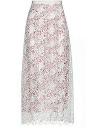 Giamba Long Skirt - White