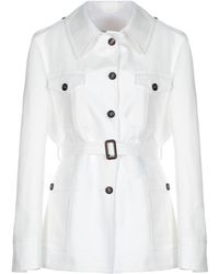 Giuliva Heritage Collection Overcoat - White