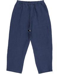 A.B Apuntob Casual Trouser - Blue