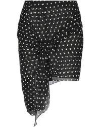 Saint Laurent Mini Skirt - Black