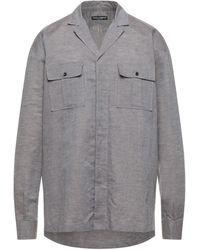 Dolce & Gabbana Denim Shirt - Grey