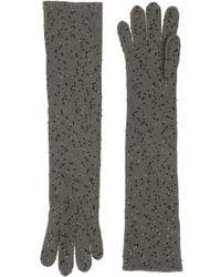 Brunello Cucinelli Gloves - Gray