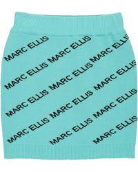 Marc Ellis Mini Skirt - Blue