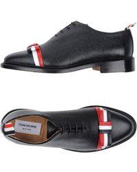 Thom Browne Lace-up Shoe - Black