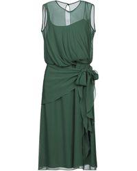 Max Mara Vestido a media pierna - Verde