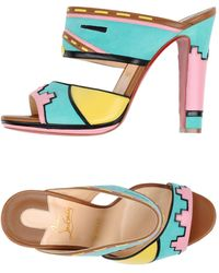 Christian Louboutin Sandals - Green
