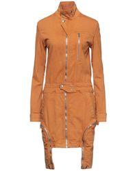 Rick Owens Drkshdw Robe courte - Orange