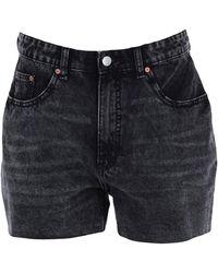 Cheap Monday Denim Shorts - Black