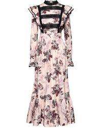 Manoush Vestido largo - Rosa