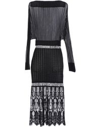 Stella McCartney Midi Dress - Black
