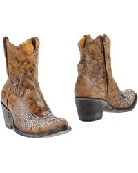 Mexicana Ankle Boots - Brown