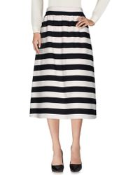Valentino - 3/4 Length Skirts - Lyst