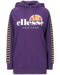 Ellesse Sweatshirt - Purple