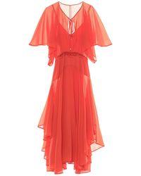 Pinko Robe longue - Orange