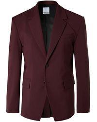 Deveaux Suit Jacket - Purple