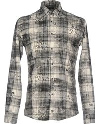 Grey Daniele Alessandrini Shirt - Gray