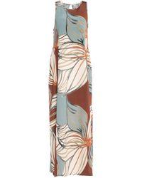 Alpha Studio Long Dress - Brown