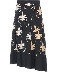 Tibi Long Skirt - Black