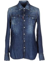 DSquared² Denim Shirt - Blue