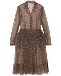 Molly Goddard Overcoat - Brown