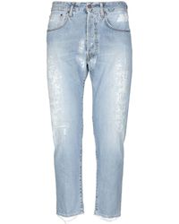 People Denim Pants - Blue