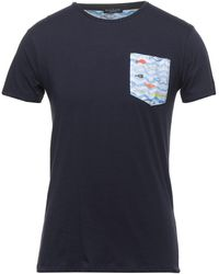 Brian Brome T-shirts - Blau